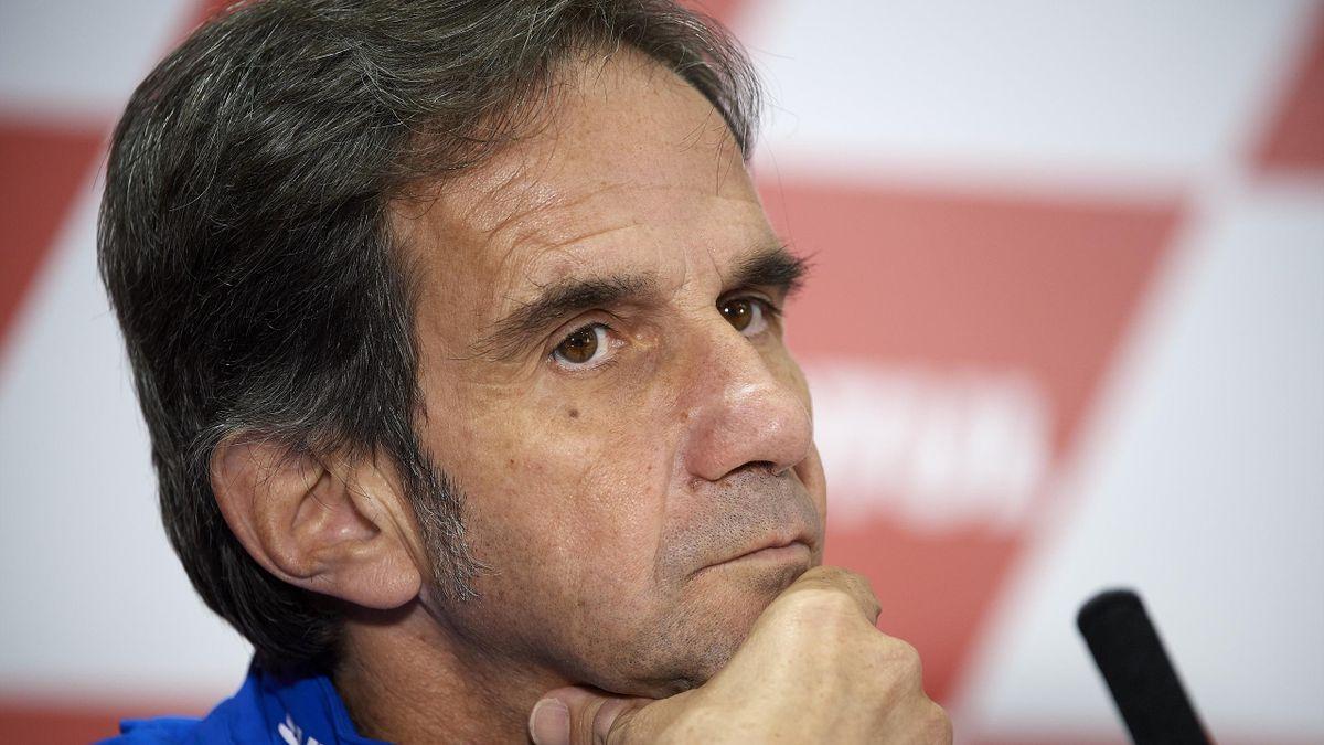 Davide Brivio, ancien manager de l'équipe Suzuki en MotoGP, débarque chez Alpine en F1