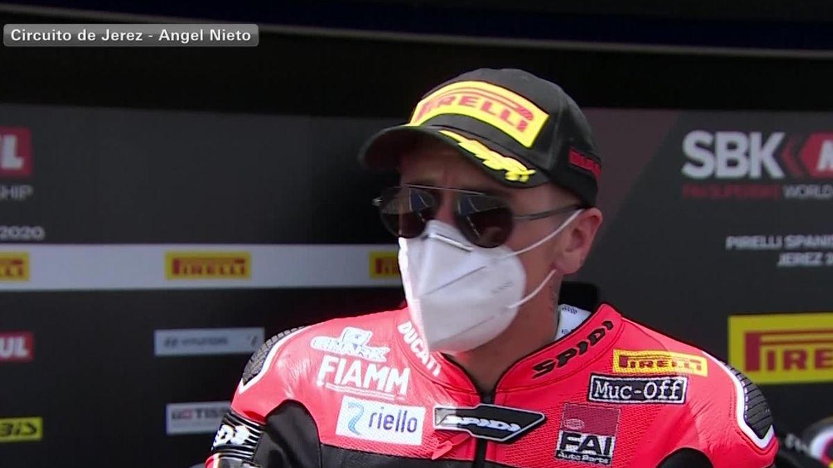 Superbike World Championship Jerez - Race 2 : Scott Redding Interview