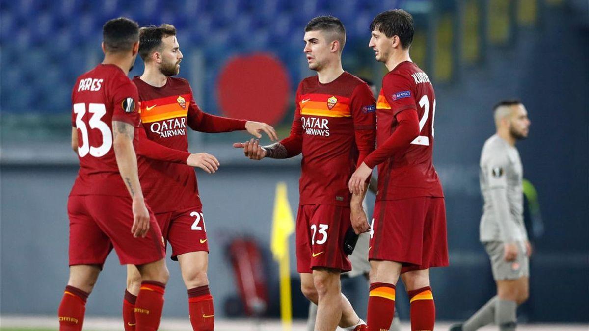 Roma-Shakhtar Donetsk Europa League 2020-21