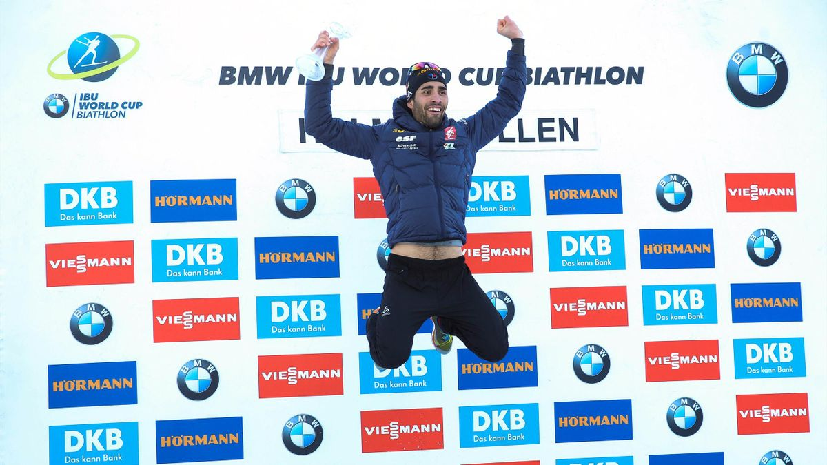 Martin Fourcade aux anges