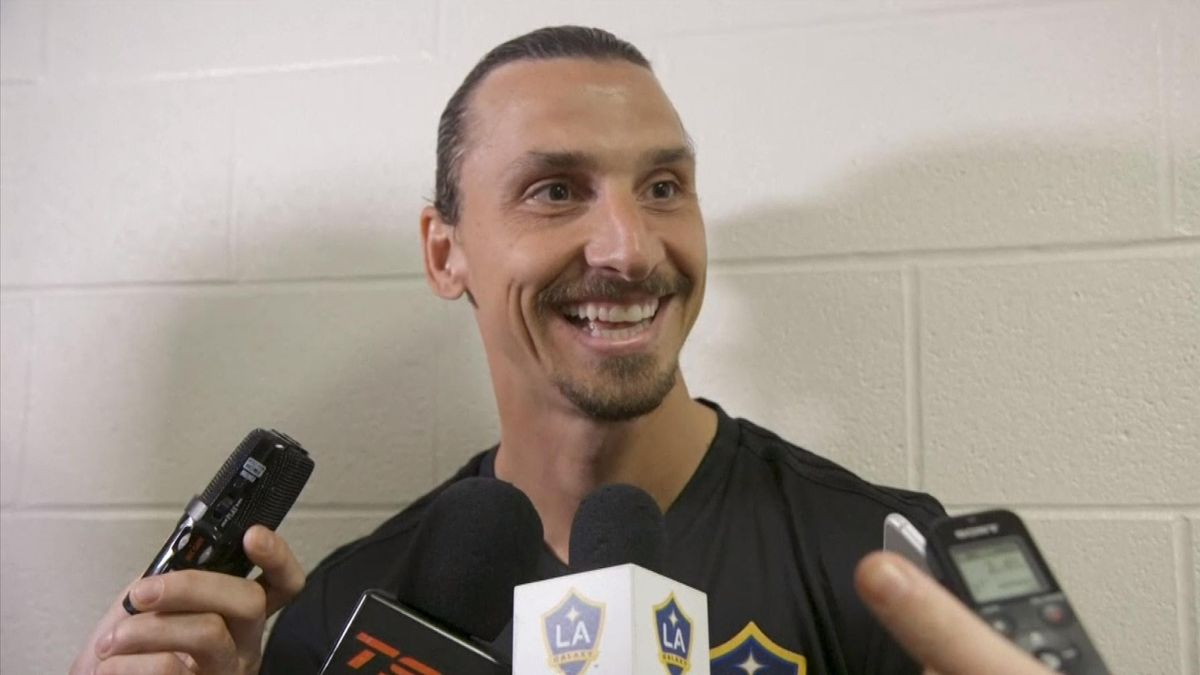 Ibrahimovic's interview after his 500th goal (in english - SNTV)