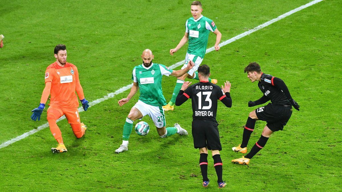 Bayer Leverkusen gegen Werder Bremen