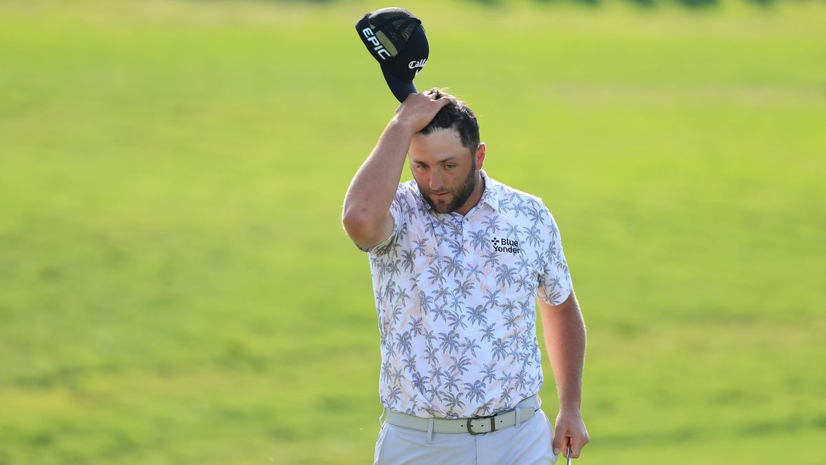 Jon Rahm musste das Memorial Tournament wegen eines positiven Corona-Tests aufgeben