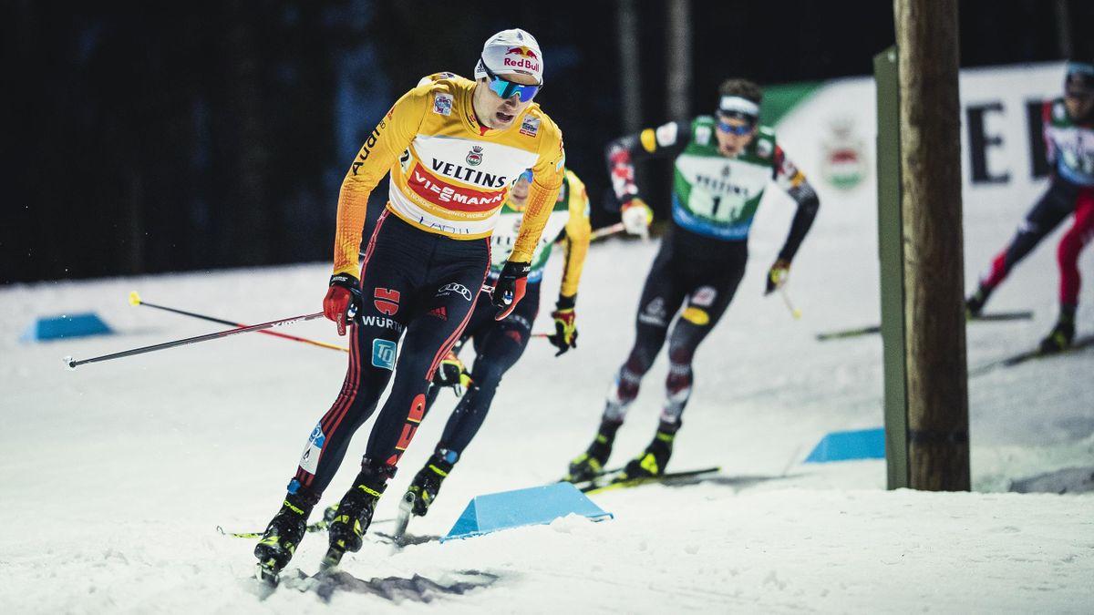 Vinzenz Geiger im Teamsprint von Lahti
