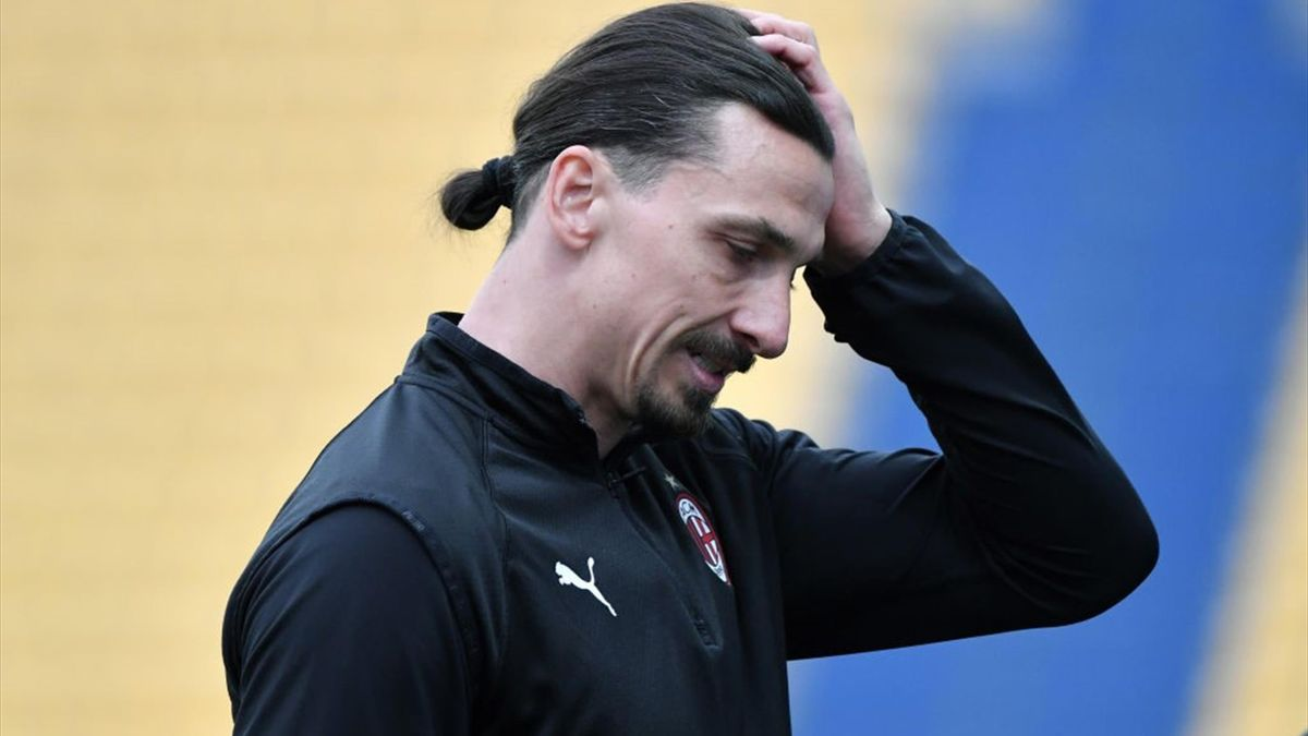 Zlatan Ibrahimovic in Parma-Milan - Serie A 2020/2021 - Getty Images