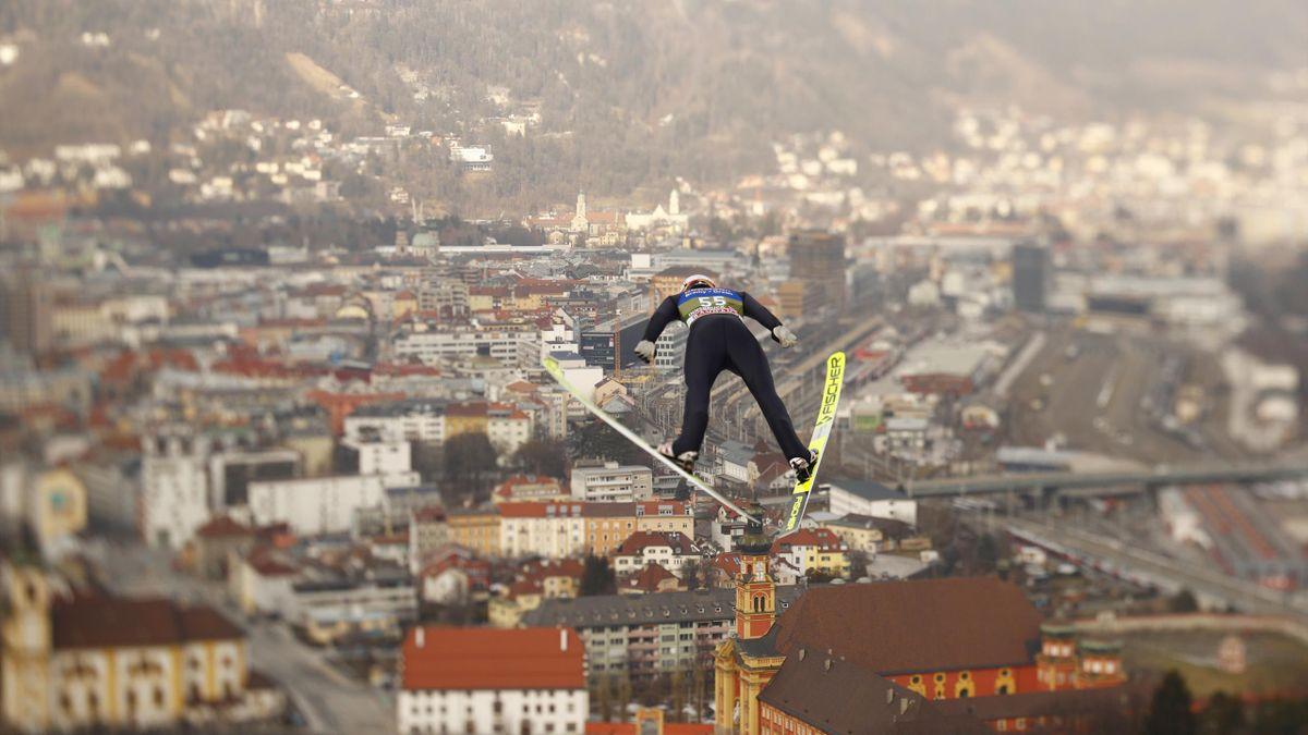 Karl Geiger in Innsbruck 2021