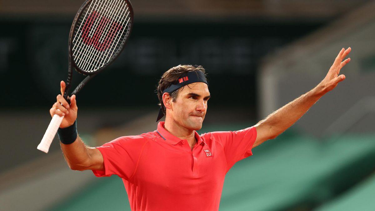 Roland-Garros: Match point of Federer against Koepfer