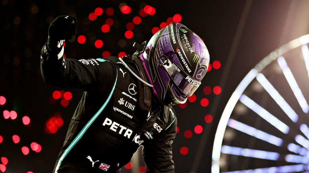 Lewis Hamilton (Mercedes) au Grand Prix de Bahreïn 2021