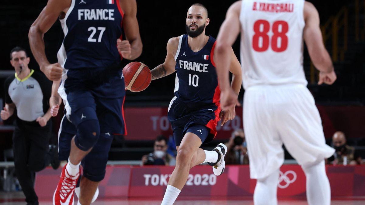 France - Iran (Fournier, Gobert, Basket)
