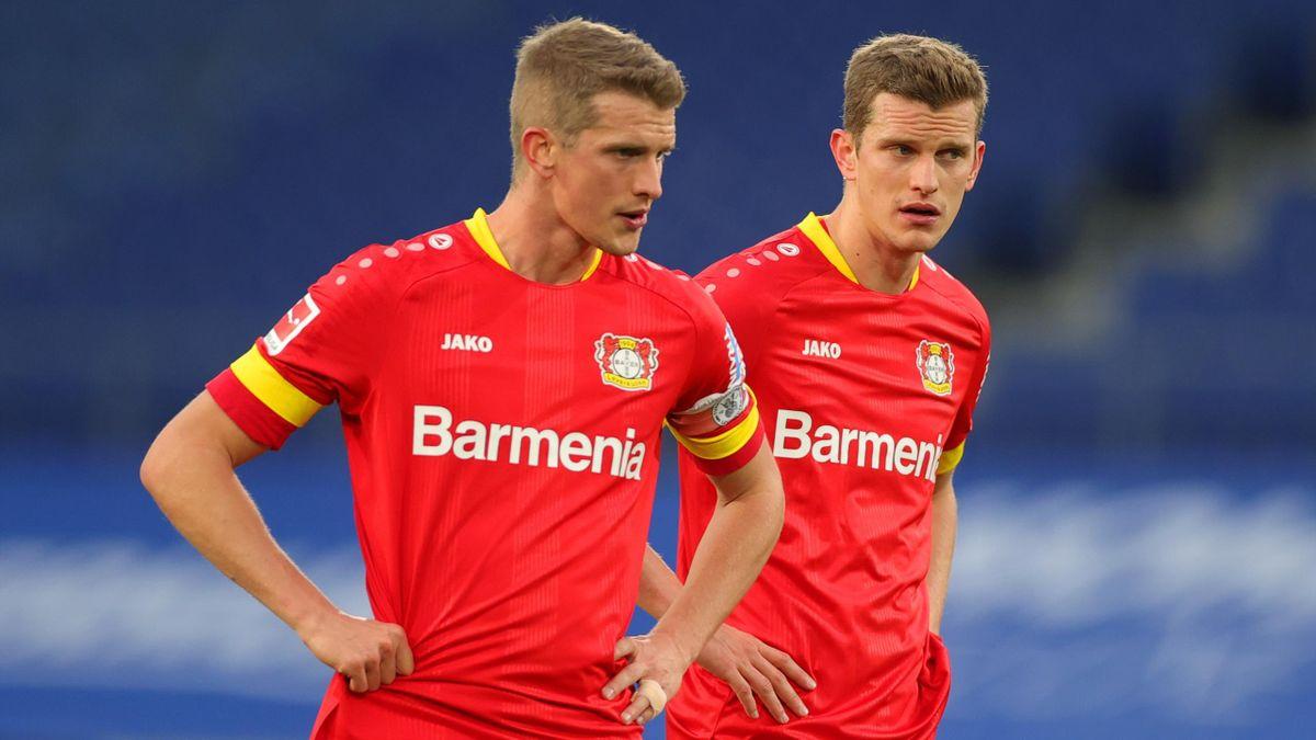 Sven und Lars Bender von Bayer Leverkusen