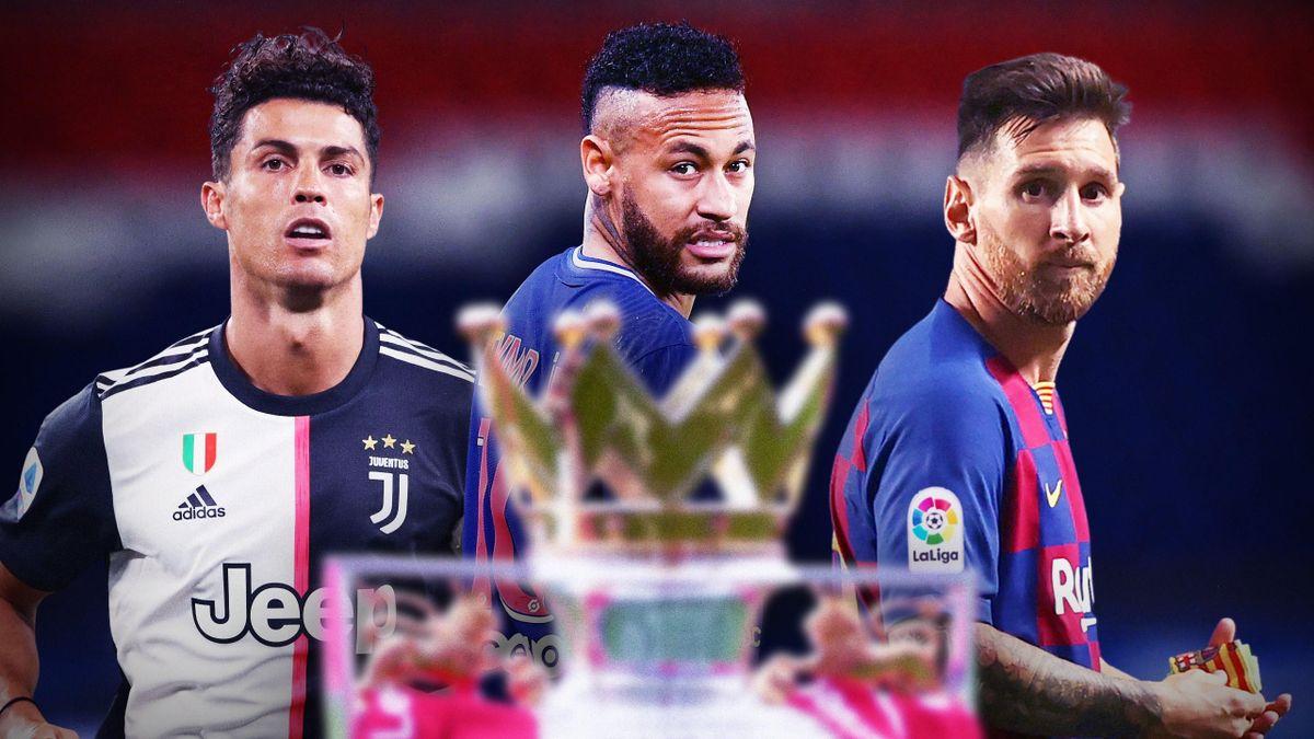 Ronaldo, Messi et Neymar snobent la Premier League (Montage : Quentin Guichard)