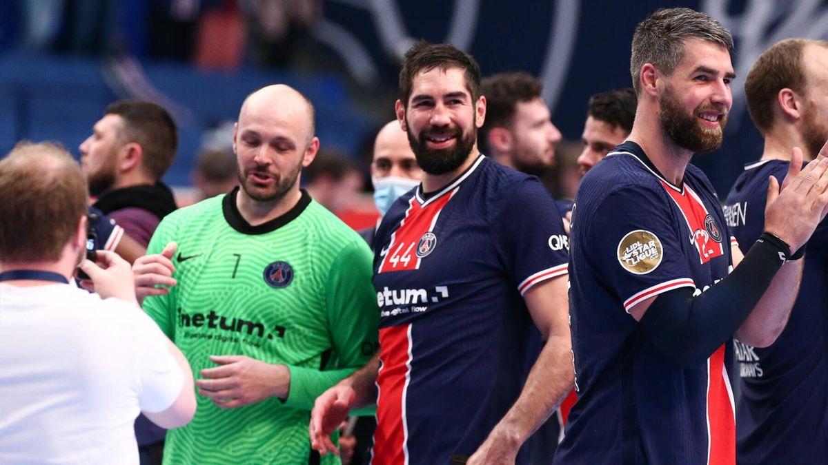 Le PSG de Vincent Gérard, Nikola et Luka Karabatic, champion de France 2020 - 2021.