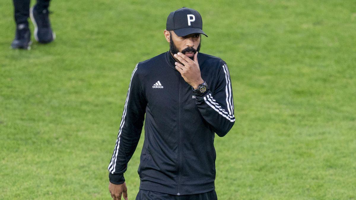 Nicht länger Trainer in Montréal: Thierry Henry