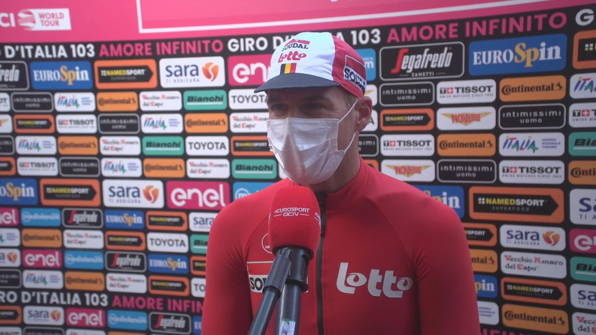 Giro d'Italia: Stage 20 Start interview Adam Hansen (eng)