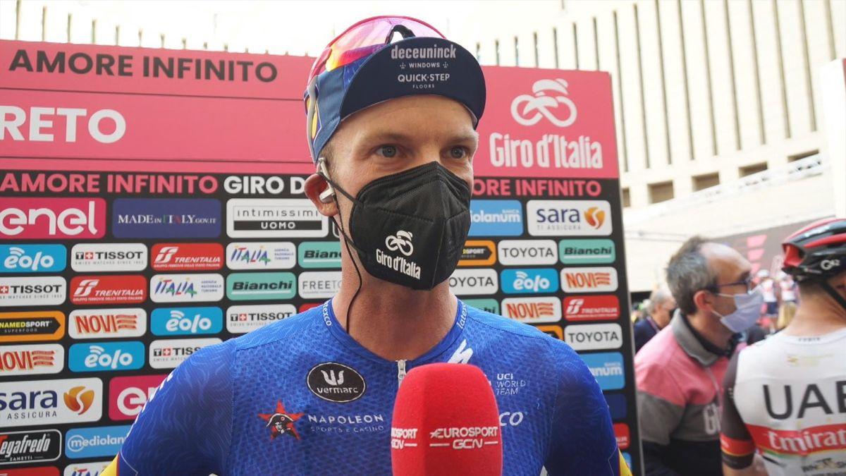 Giro d'Italia | Iljo Keisse over opgave Evenepoel: 'Niemand verlaat graag zijn eerste grote ronde'