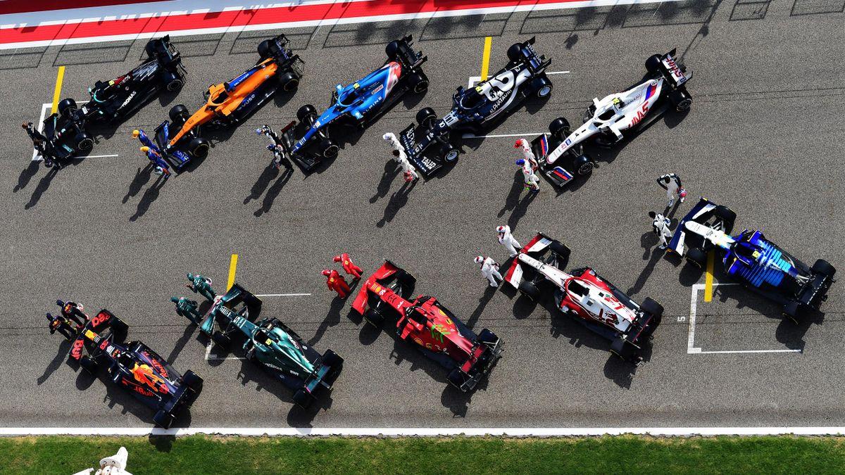 Le vetture della Formula 1 2021