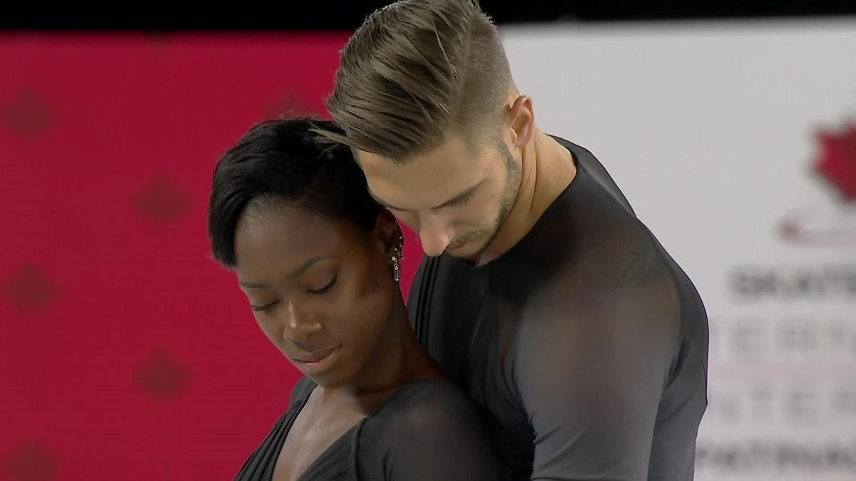 Ciprès and James win Skate Canada