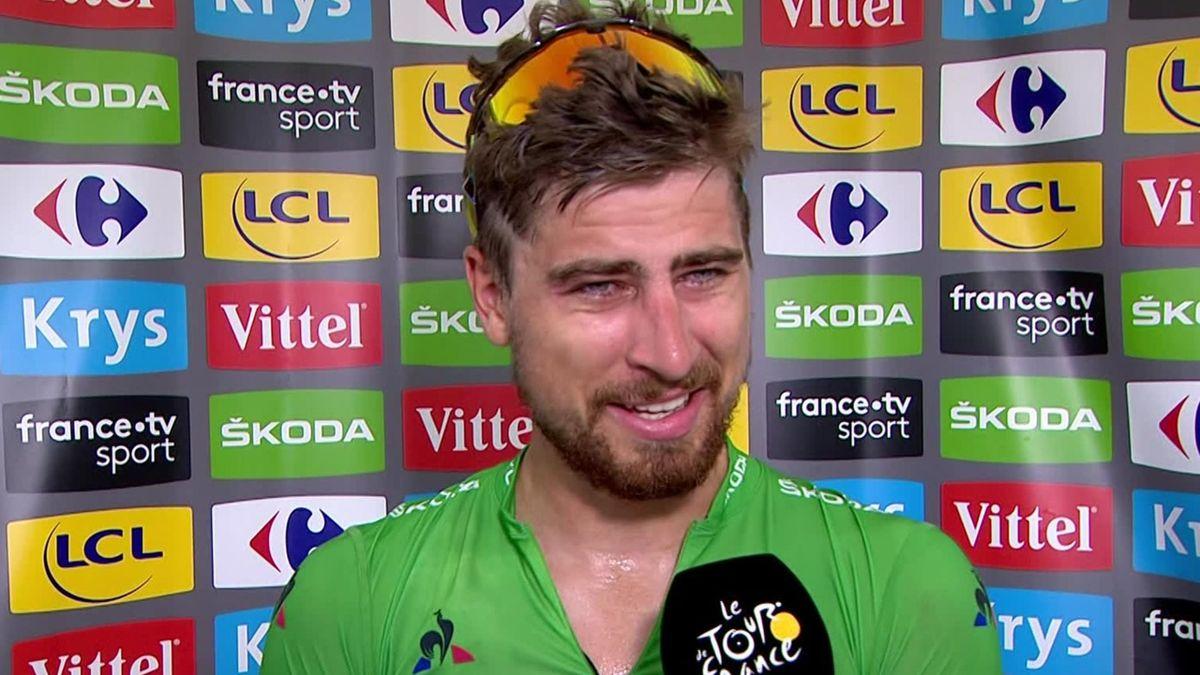 Tour de France : Sagan's interview
