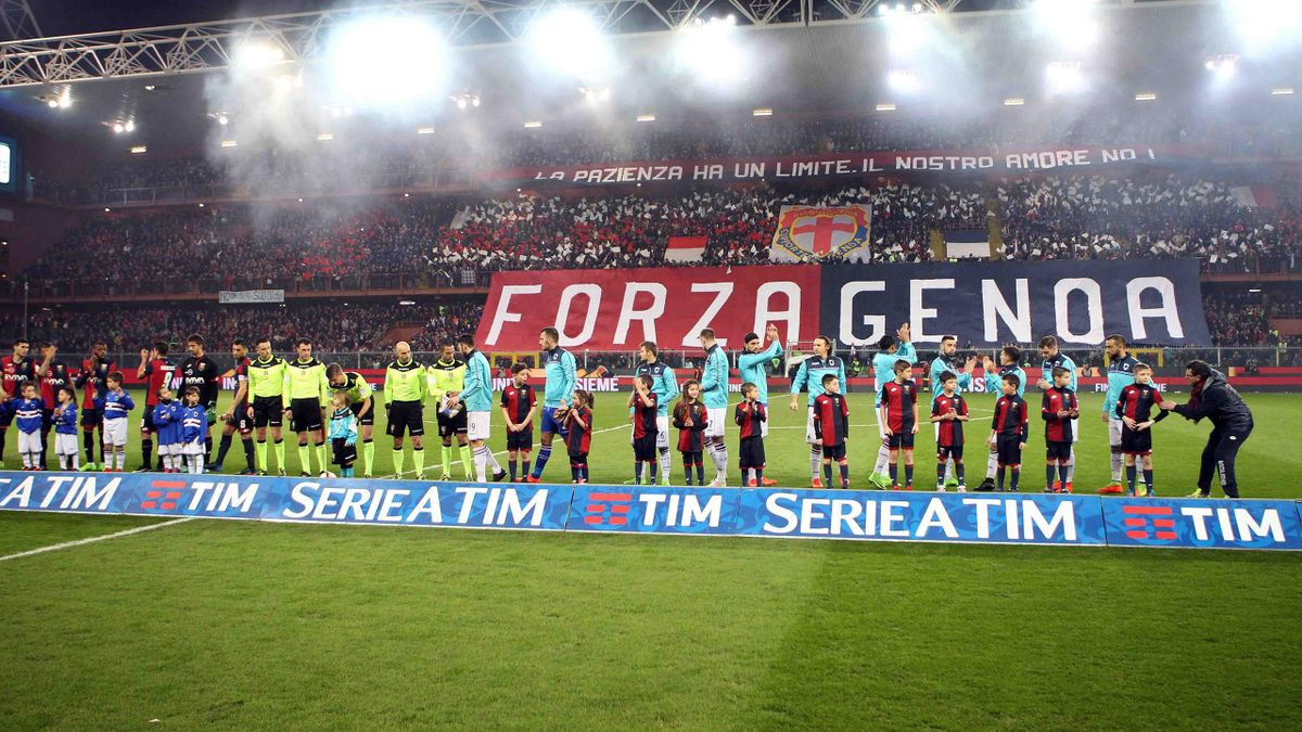 2017, Genoa-Sampdoria atmosfera, LaPresse
