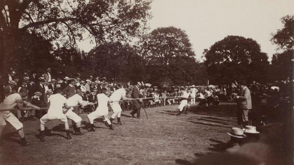 Kötélhúzás olimpia 1900