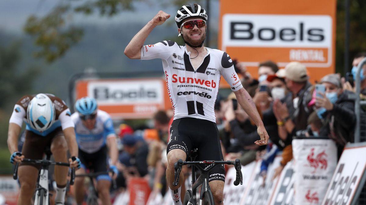 Marc Hirschi (Sunweb) vainqueur de la Flèche Wallonne 2020
