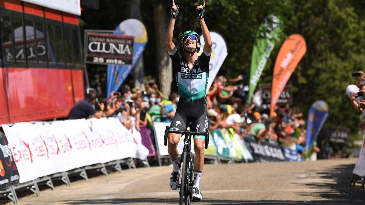 Felix Grossschartner remporte la première étape du Tour de Burgos