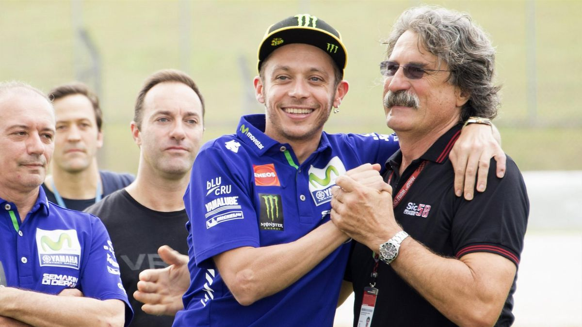 Valentino Rossi, Paolo Simoncelli, Sepang, MotoGP, Getty Images