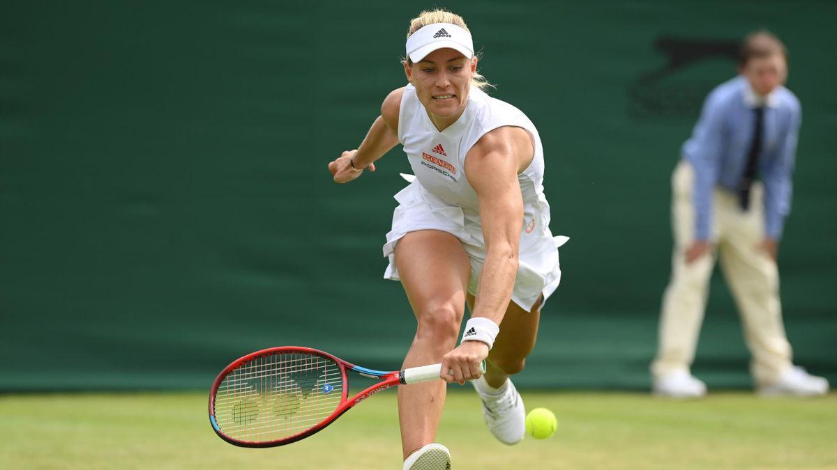 Angelique Kerber in Wimbledon 2021