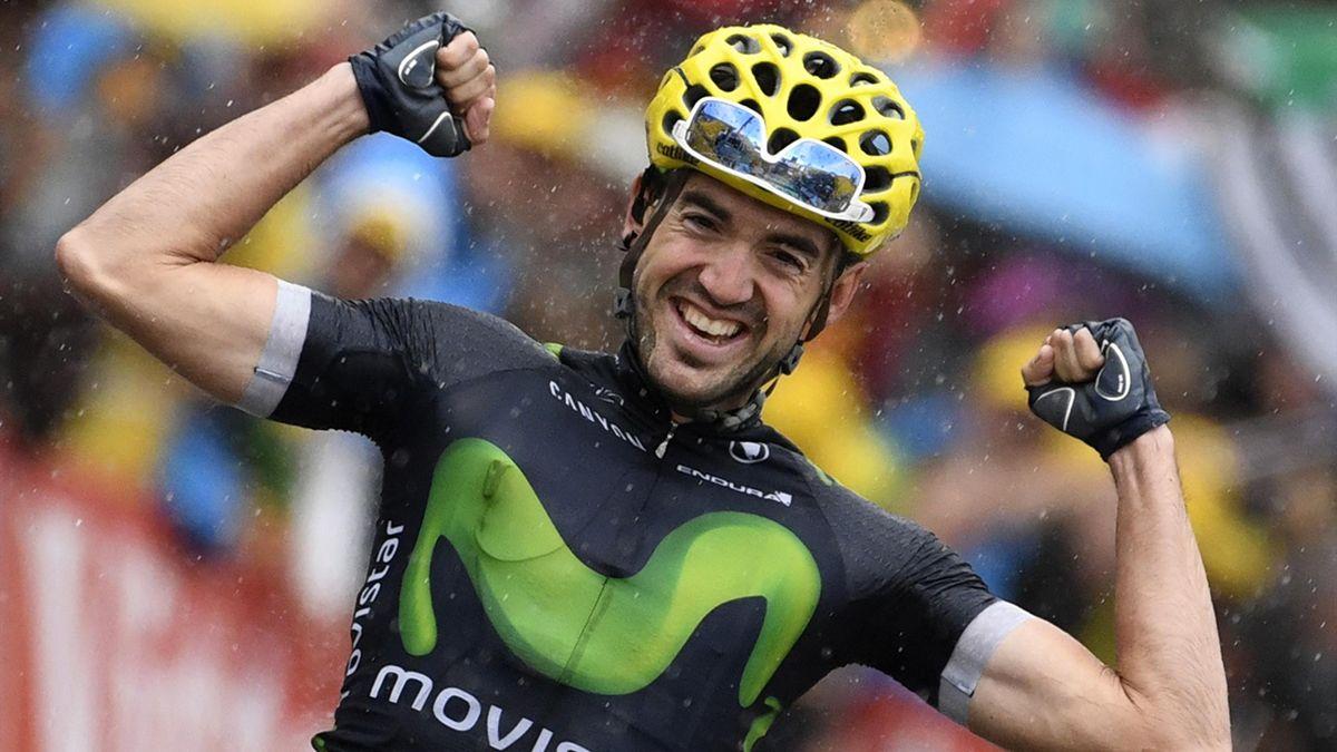 Ion Izaguirre (Movistar) wins stage 20 of the Tour de France