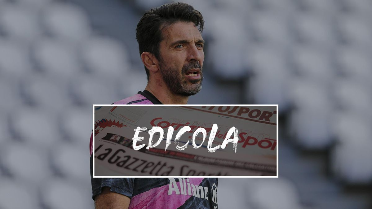 Edicola, Buffon medita l'addio alla Juve