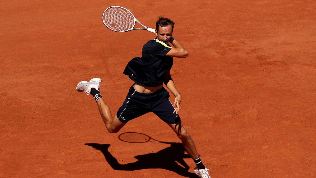 Daniil Medvedev à Roland-Garros