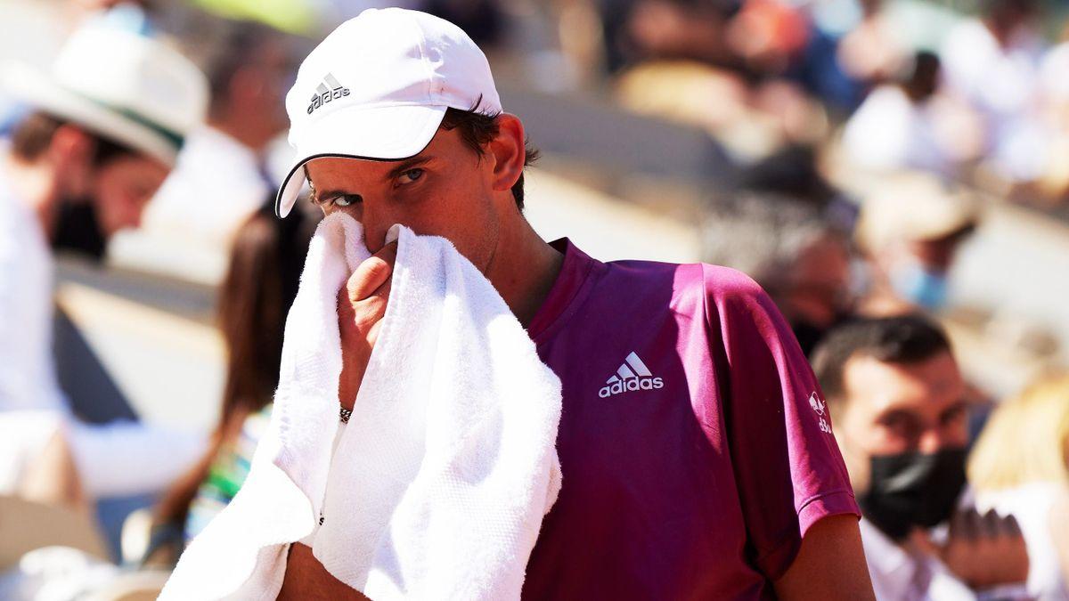 Dominic Thiem bei den French Open in Paris