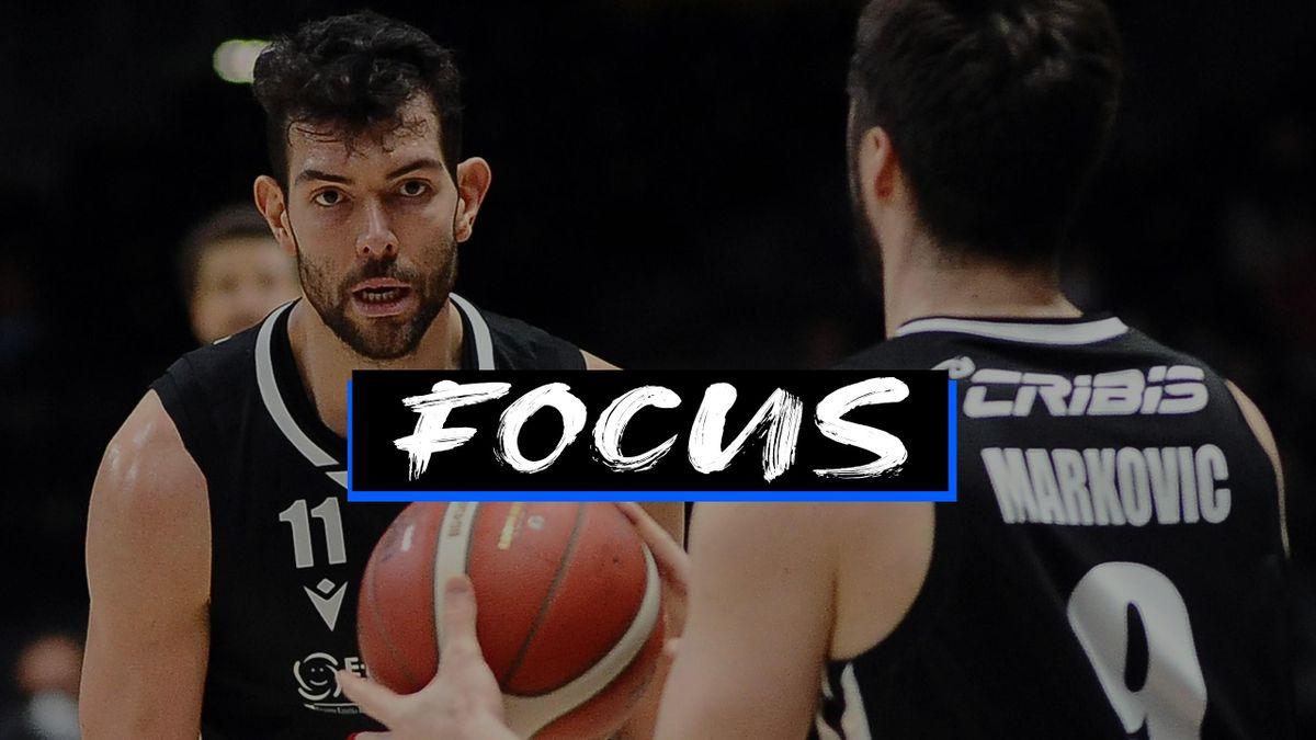 Ricci e Markovic, Virtus Bologna 2020-21 - Foto focus