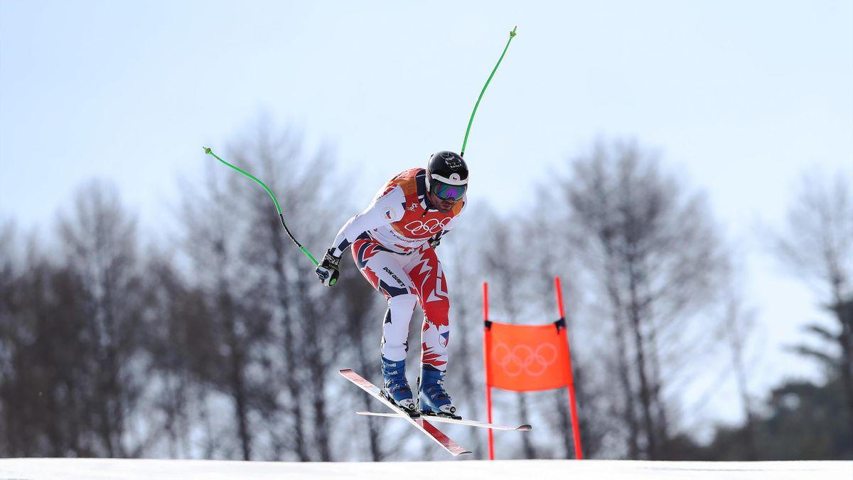 Jan Hudec at the 2018 Winter Olympics