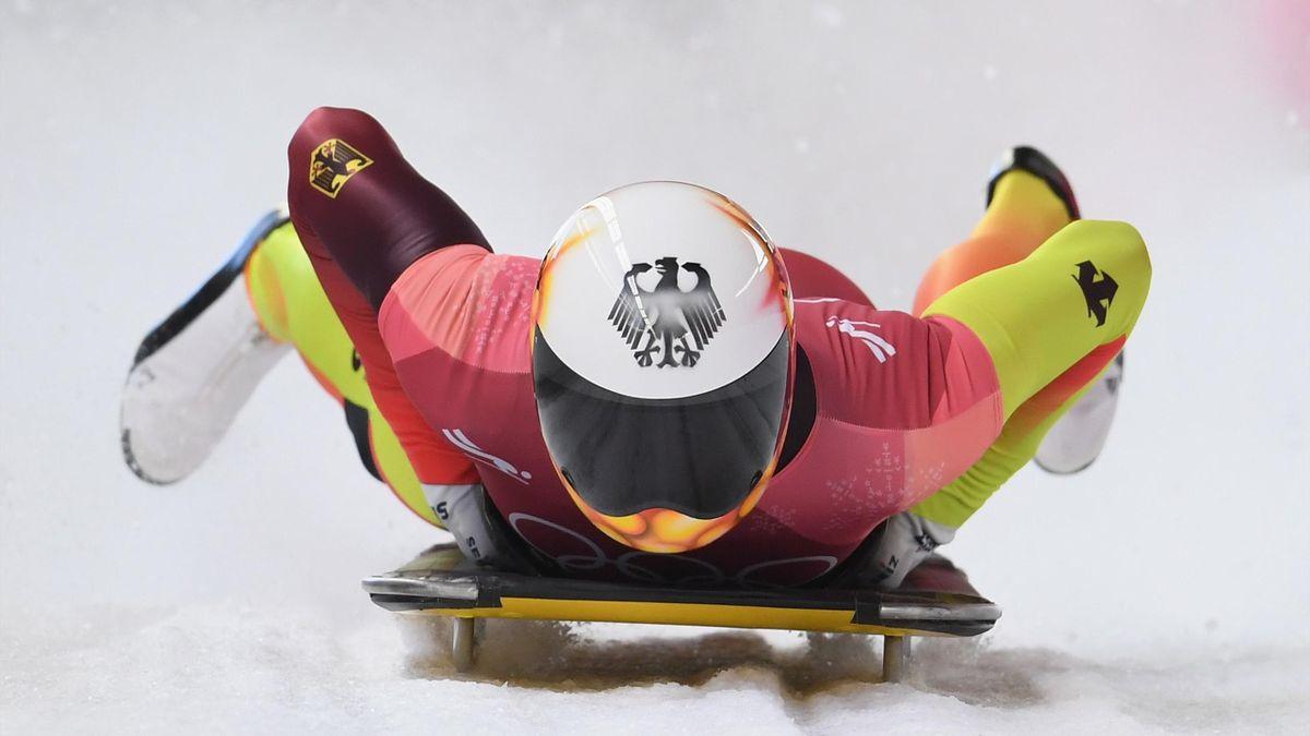 Skeleton bei Olympia 2018: Axel Jungk (Deutschland)
