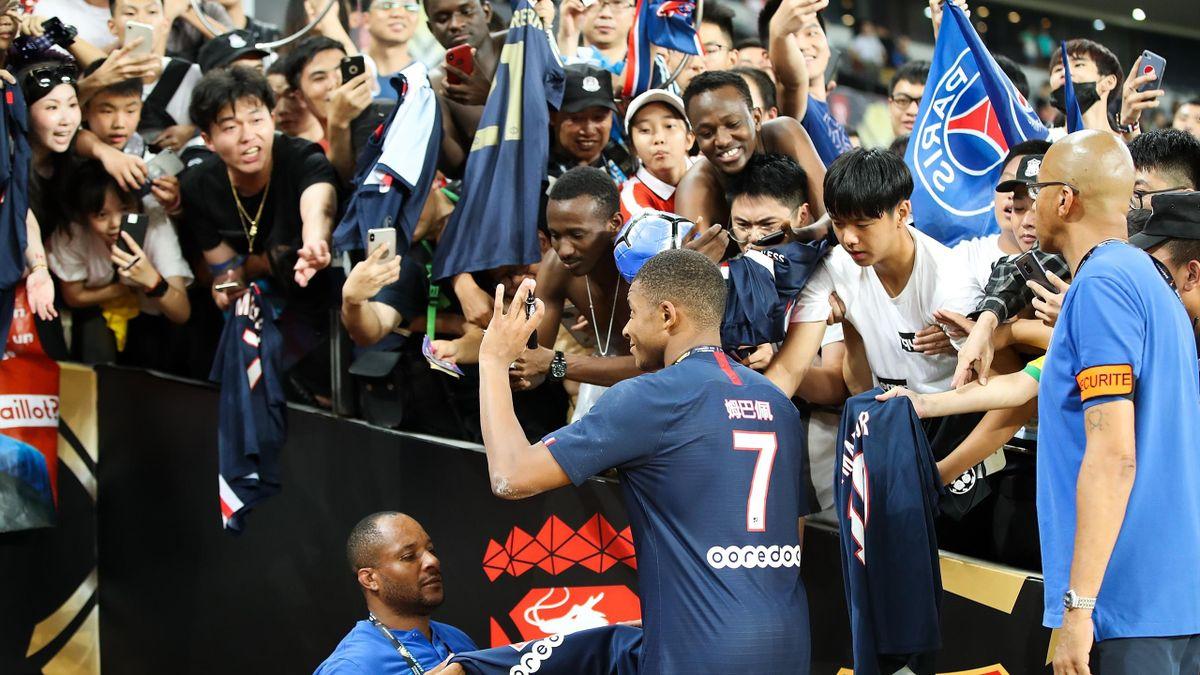 Kylian Mbappé lors du trophée des champions 2019