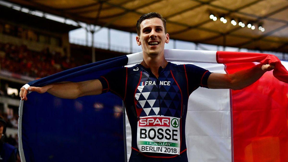 Pierre-Ambroise Bosse a décroché le bronze sur le 800m - Championnats d'Europe 2018