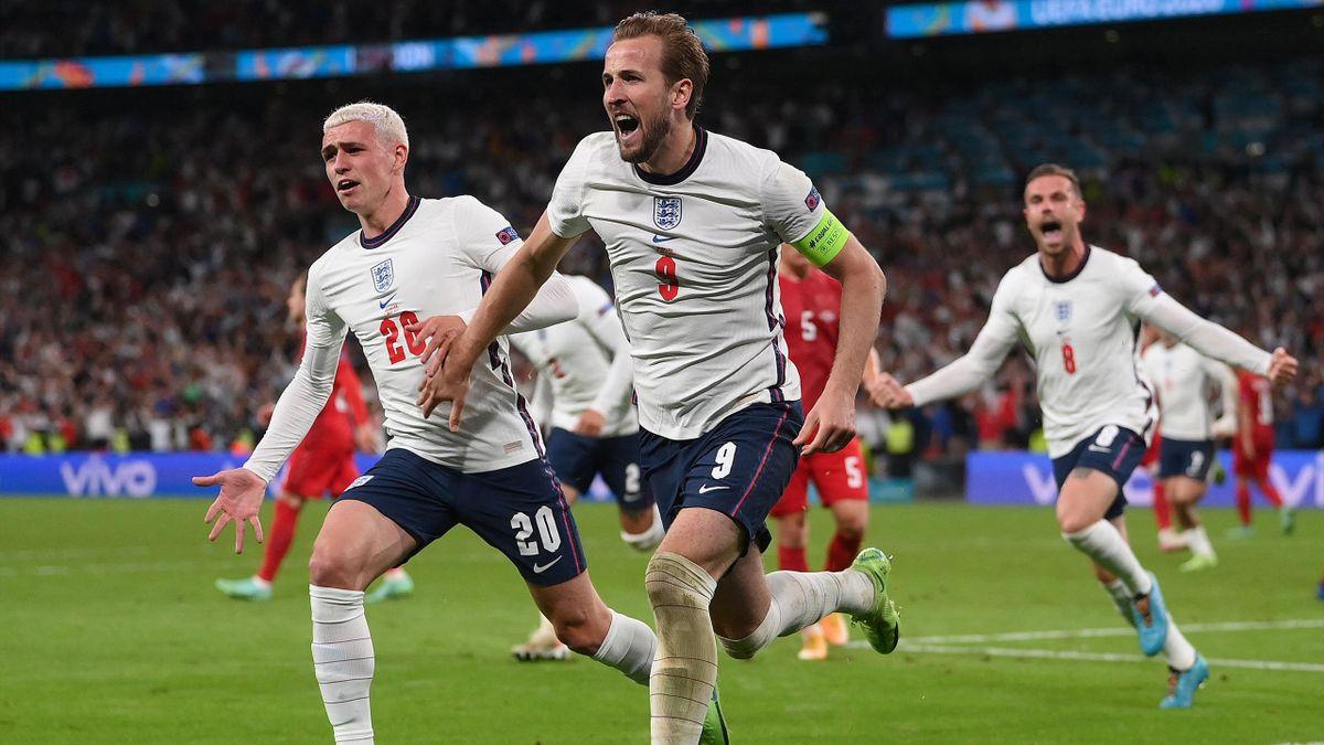 Harry Kane et l'Angleterre joueront la finale de l'Euro