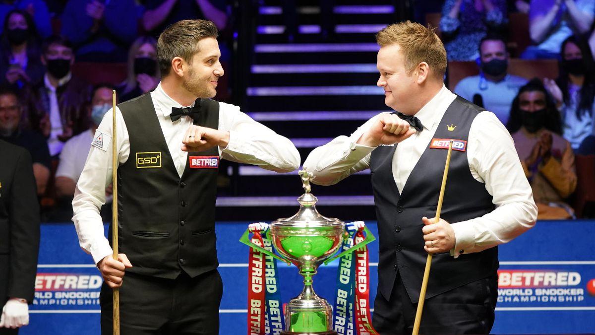 Mark Selby și Shaun Murphy (Finala Campionatului Mondial de snooker, 2021)