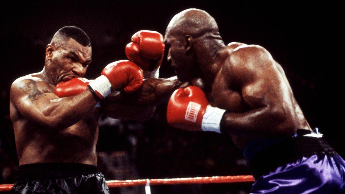 Tyson vs Holyfield.