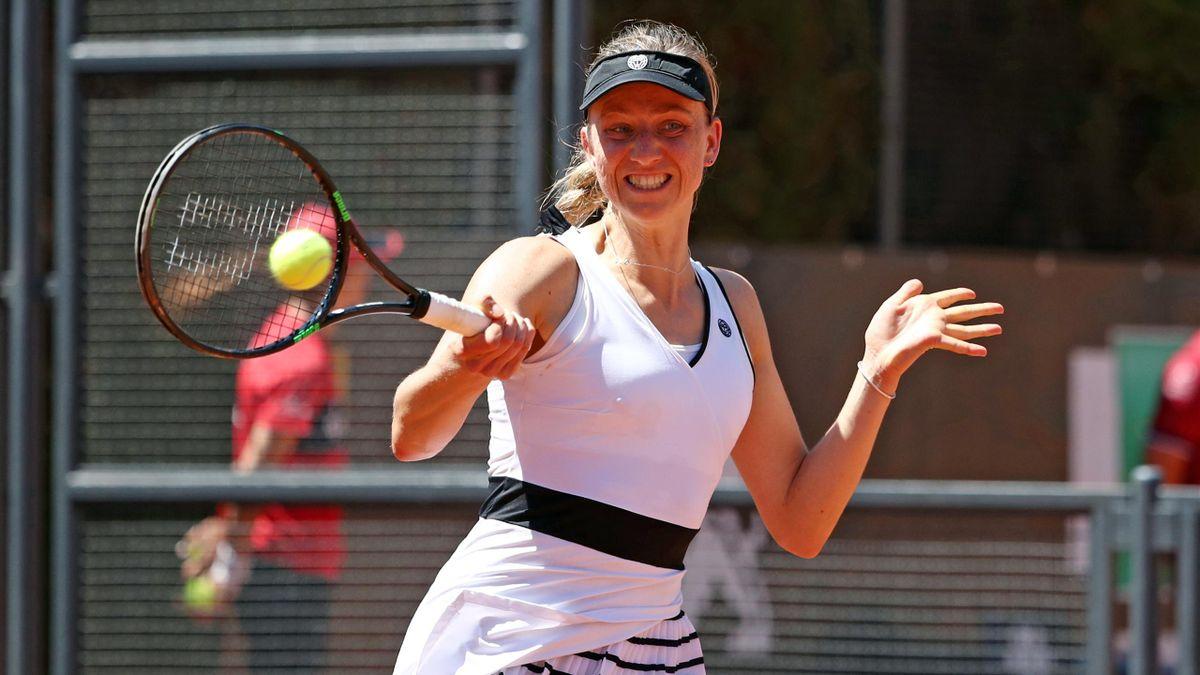 Mona Barthel hat beim WTA-Turnier das Halbfinale erreicht