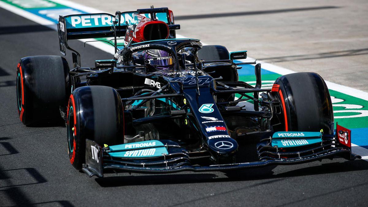 Lewis Hamilton geht von Rang elf ins Rennen