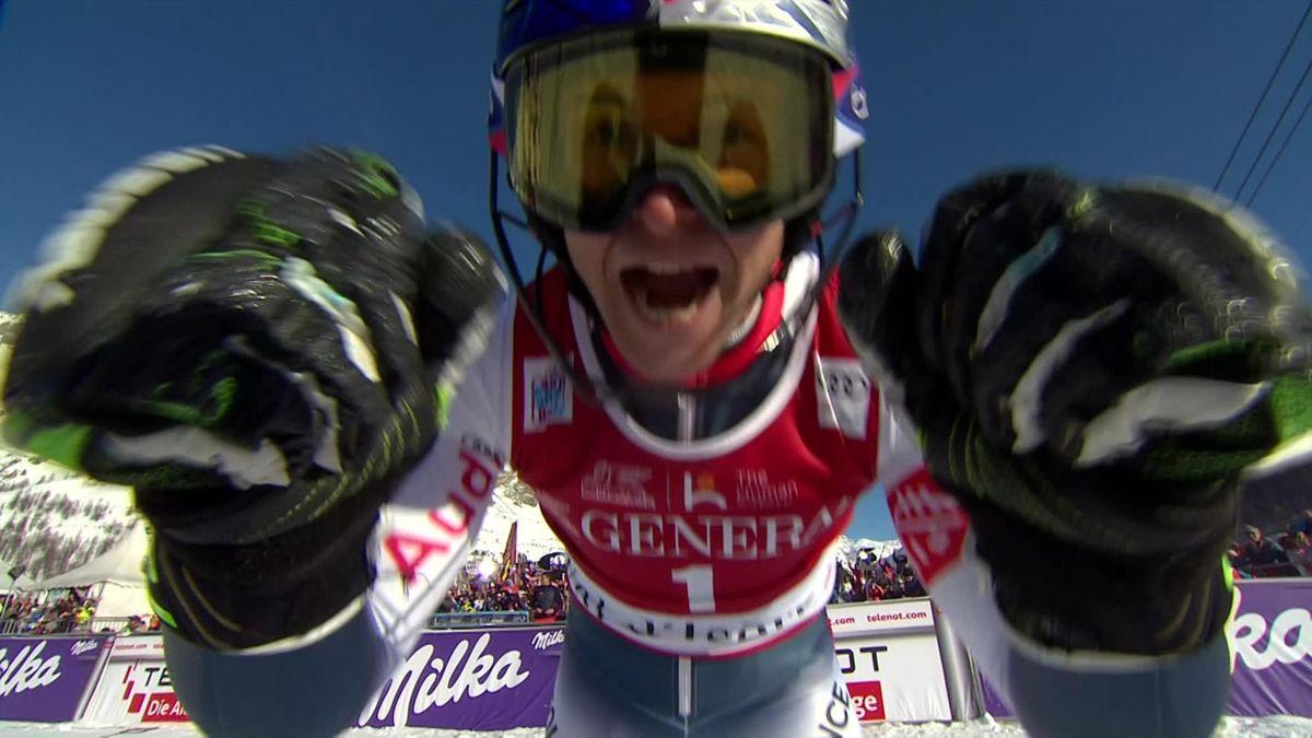Val d'Isère , Slalom Men - Run 2 : Alexis Pinturault