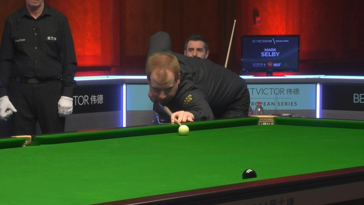 Watch: Tension-packed finish as Brown beats Selby on final black