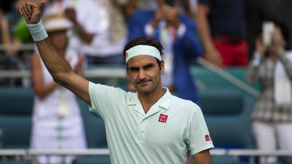Roger Federer in Miami