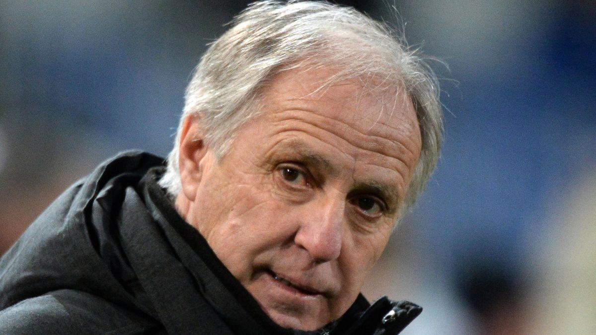 René Girard lors de Montpellier-Lille, saison 2014-15.