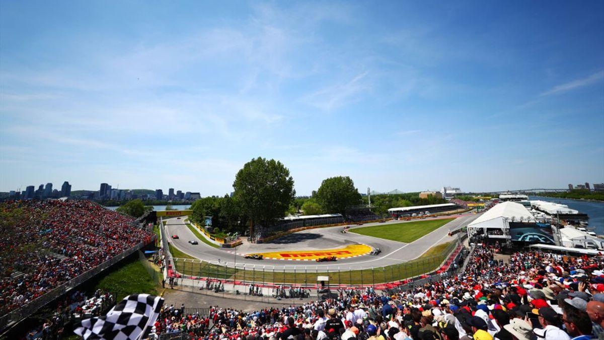 Il circuito di Montreal che ospita il GP del Canada di F1