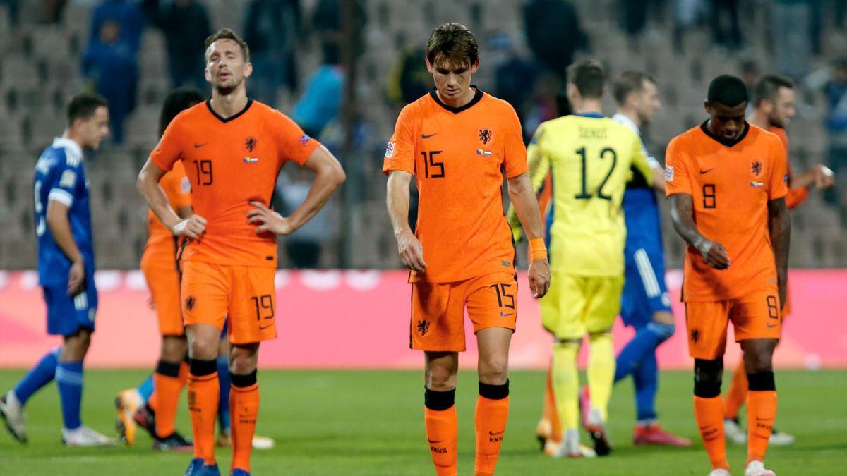 Les Pays-Bas accrochés 0-0 sur la pelouse de la Bosnie en Ligue des Nations