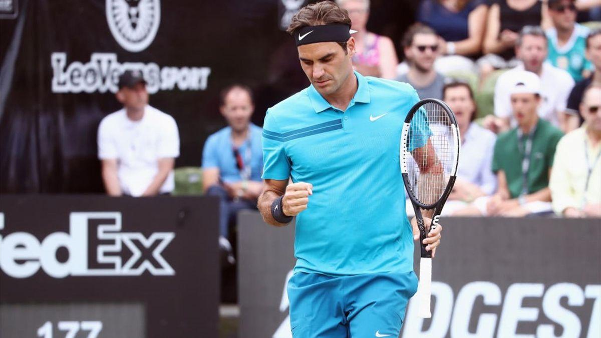 Roger Federer-Milos Raonic - 2018 ATP Mercedes Cup, Stuttgart - Getty Images