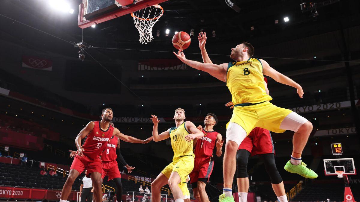 Beim olympischen Basketballturnier treffen die Deutschen auf Australien